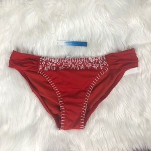 Lucky Brand Spic Stitch Bikini Bottom